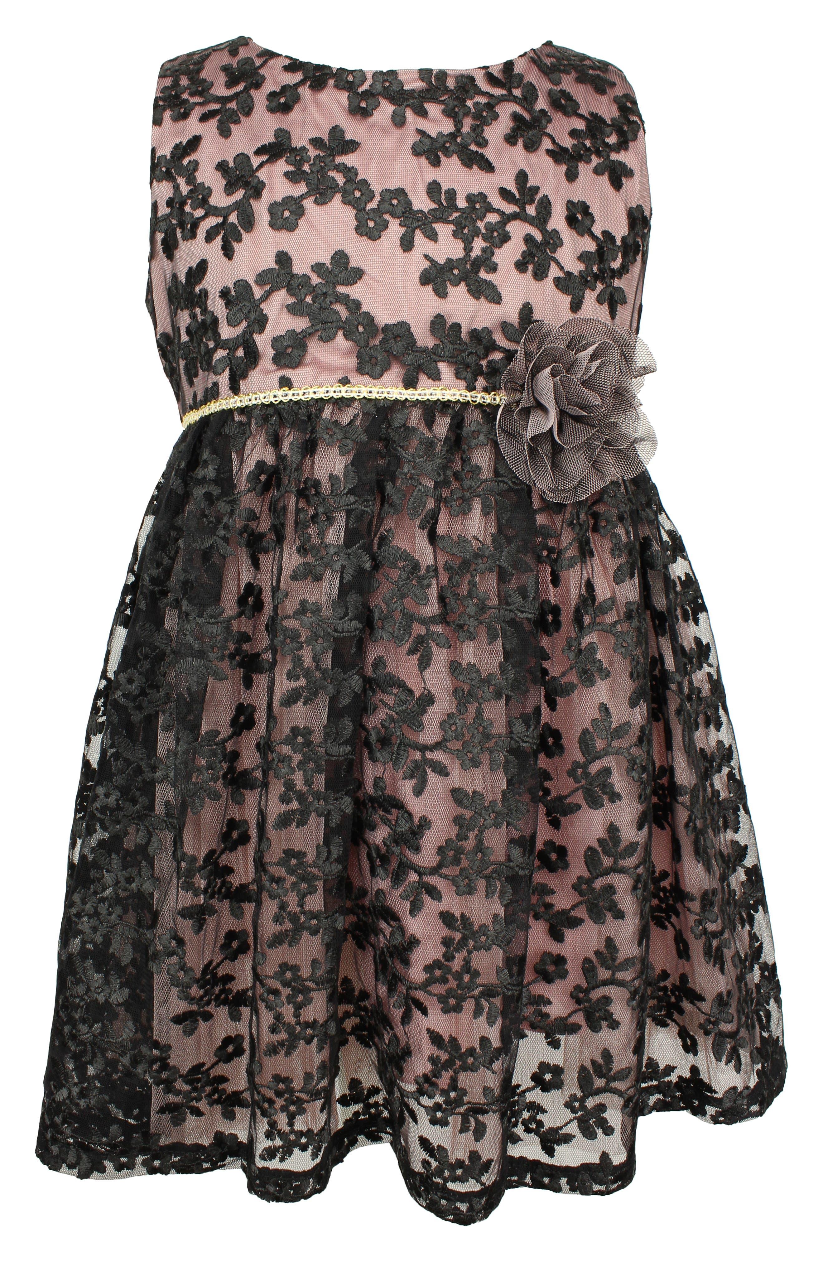 Image of Popatu Black Lace Dress