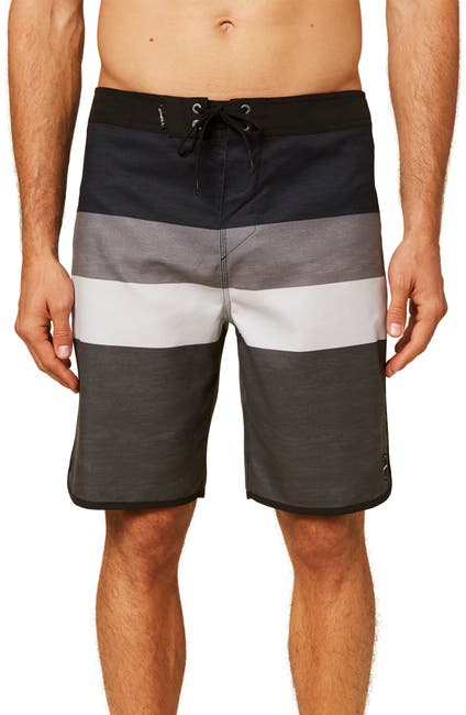 Image of O'Neill Four Square Stripe Boardshorts