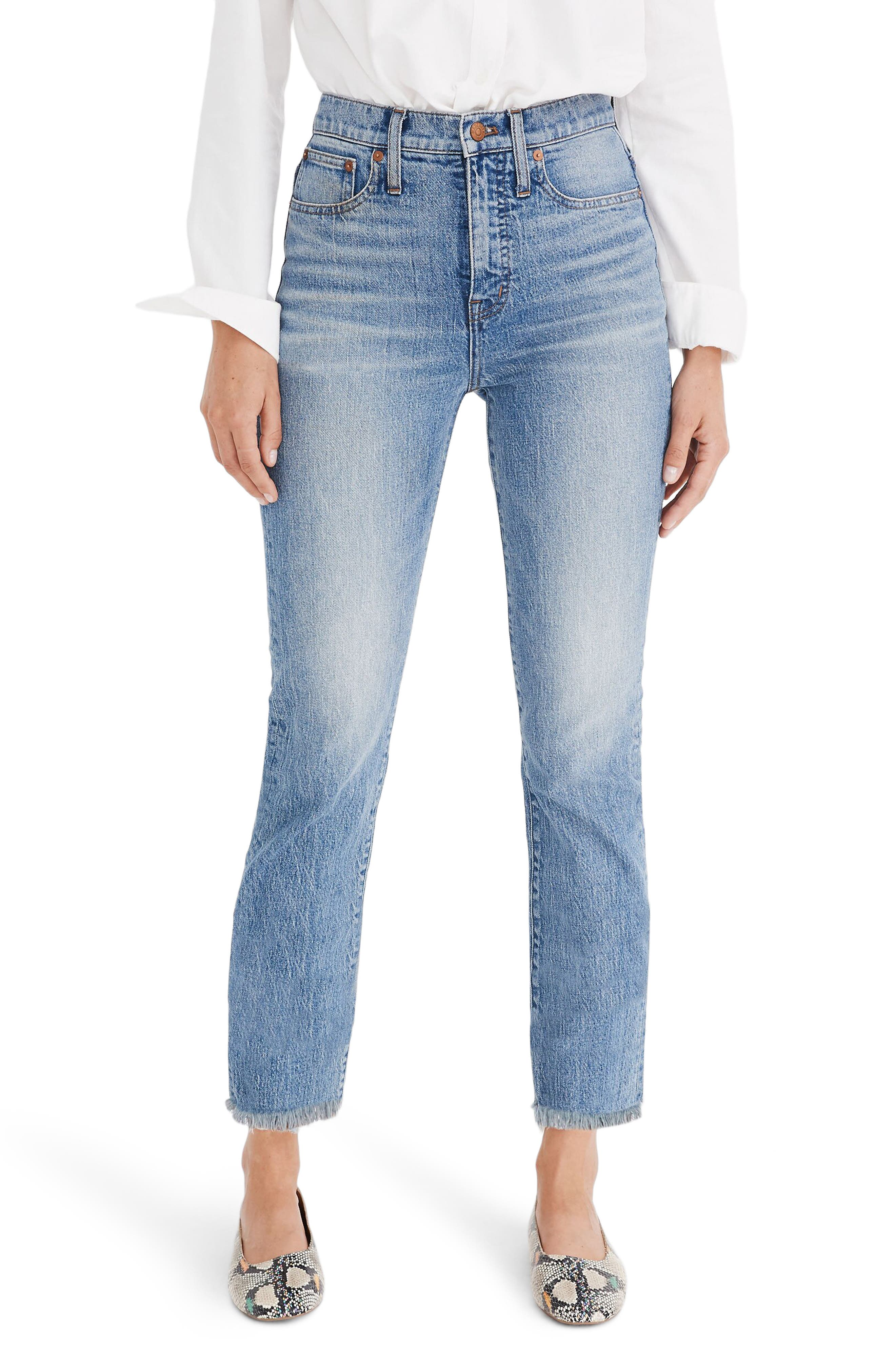 Madewell The Perfect Vintage Jean (Ainsworth) (Regular & Plus Size)