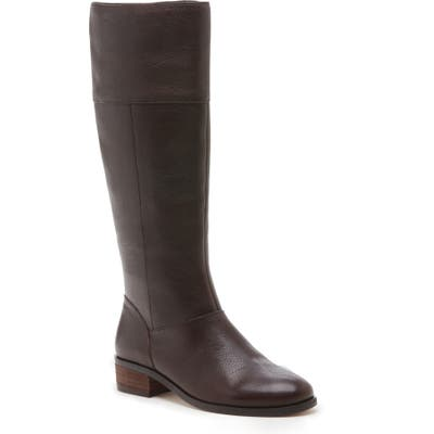 Sole Society Carlie Knee High Boot- Brown