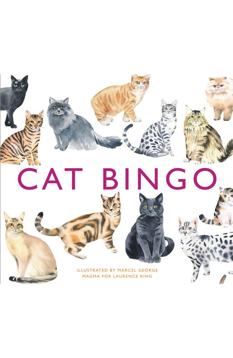 CHRONICLE BOOKS Cat Bingo Game, Main, color, 100