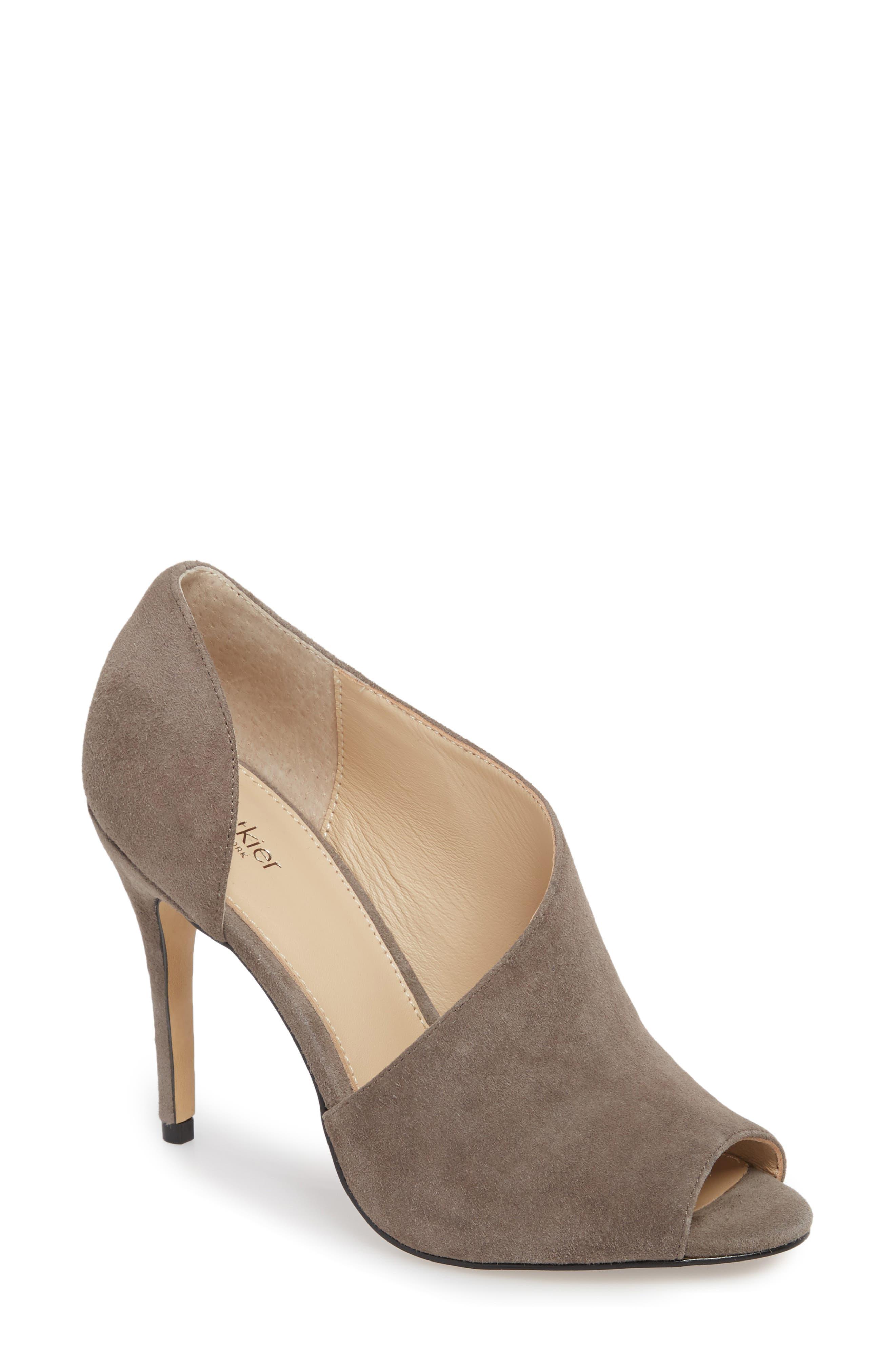 Botkier Adelia Asymmetrical Sandal- Grey