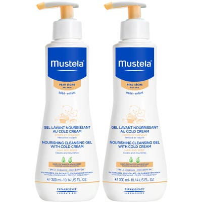 Mustela 2-Pack Nourishing Cleansing Gel With Cold Cream