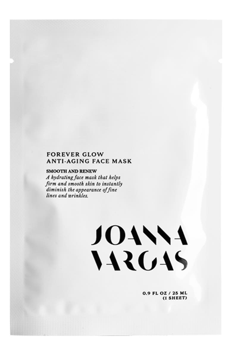 JOANNA VARGAS Forever Glow Anti-Aging Face Mask, Main, color, NO COLOR