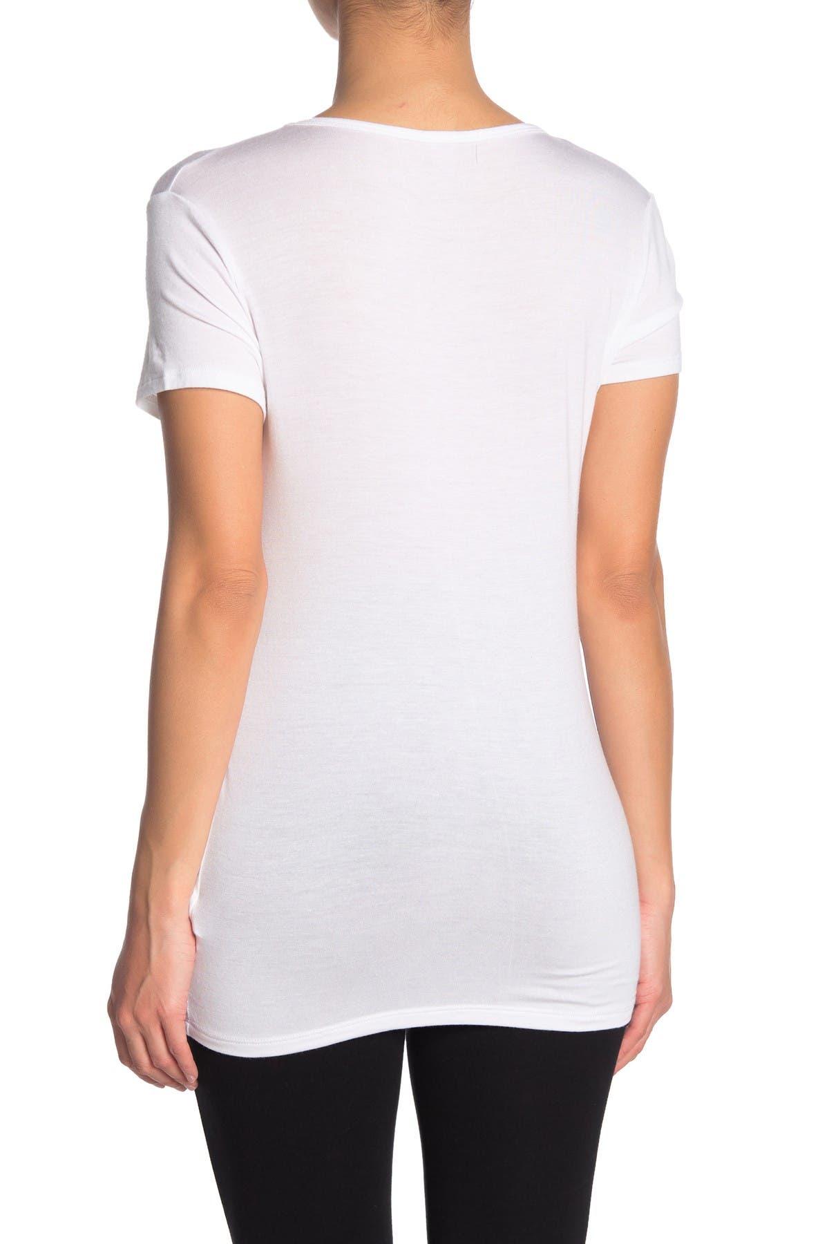 Beyond Yoga Pull Strings Ruched Seam T-Shirt
