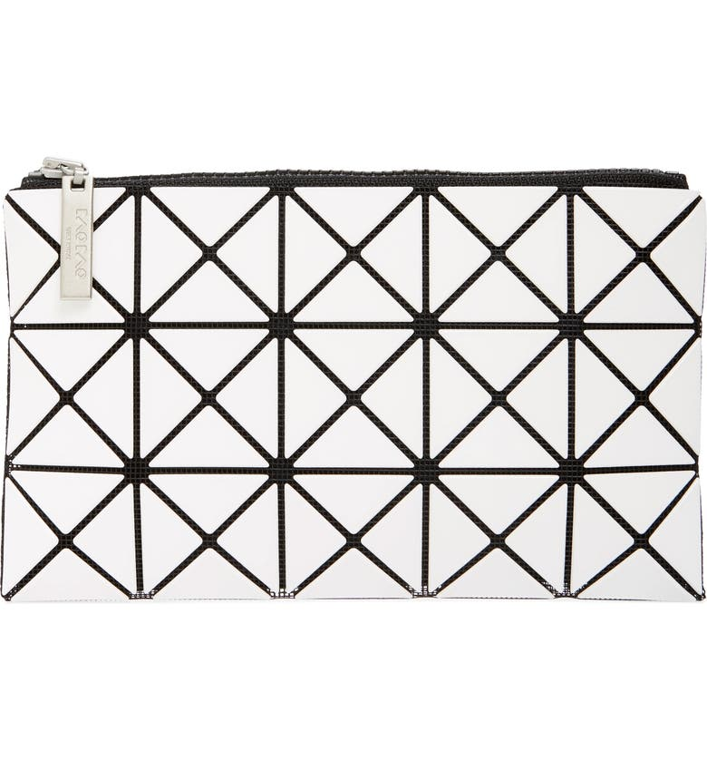 BAO BAO ISSEY MIYAKE Prism Flat Pouch, Main, color, 100