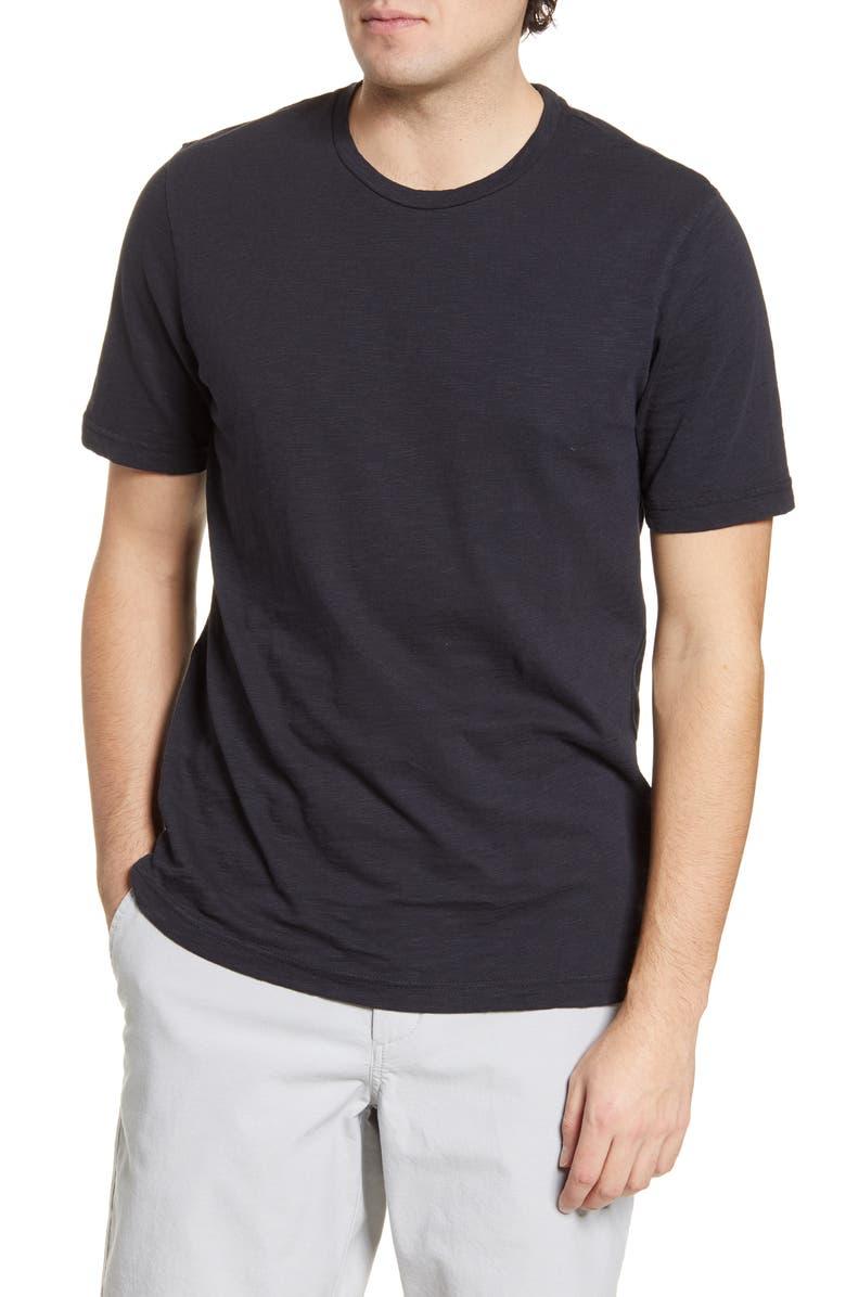 1901 Solid Slub T-Shirt, Main, color, BLACK ROCK