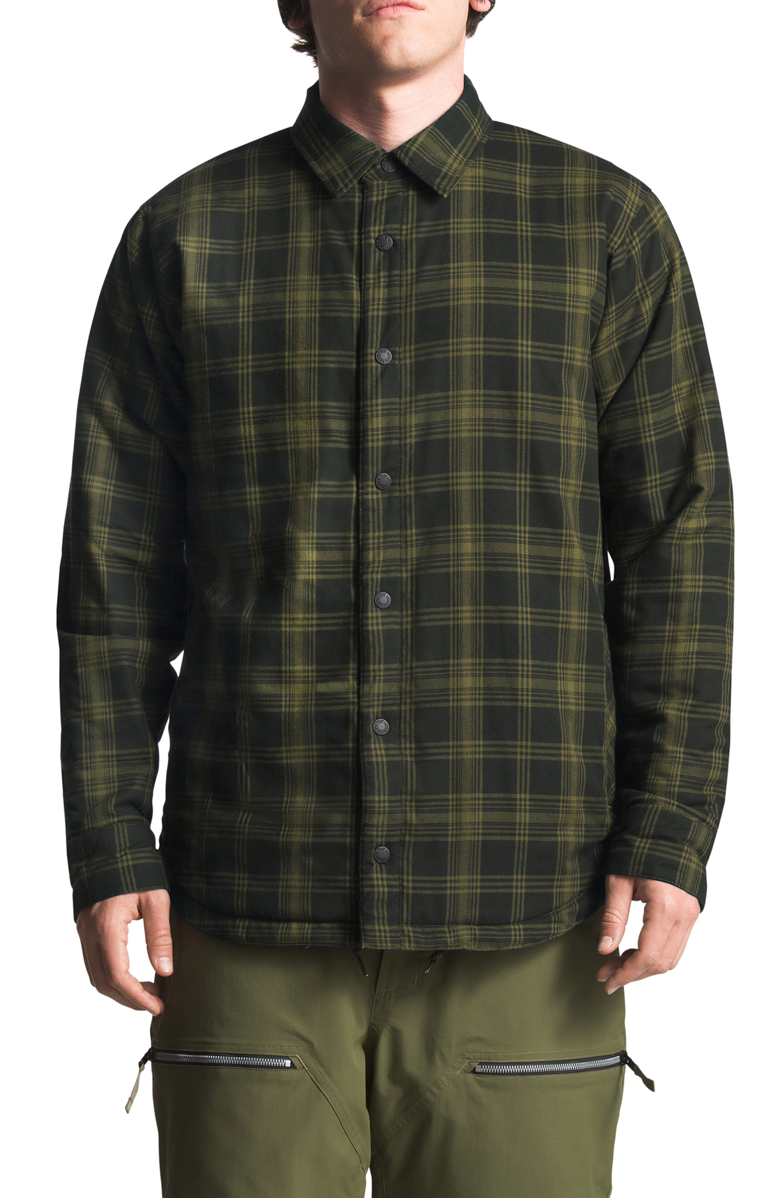 ,                             Fort Point Insulated Reversible Shirt Jacket,                             Alternate thumbnail 8, color,                             005
