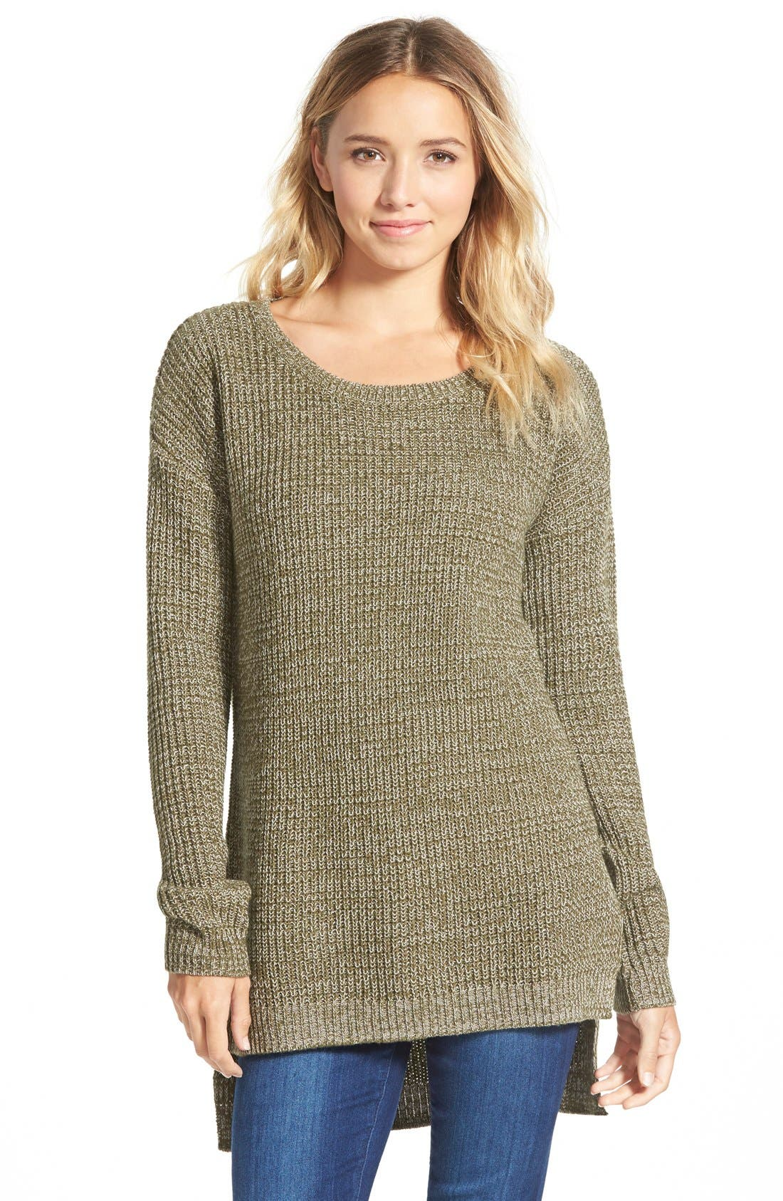,                             Textured Knit Pullover,                             Main thumbnail 15, color,                             315