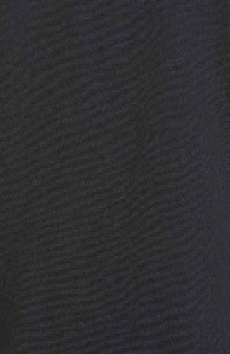 RAG & BONE Standard Issue Regular Fit Slub Cotton Polo, Main, color, BLACK