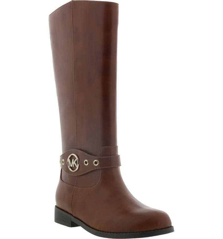 MICHAEL MICHAEL KORS Emma Heather Riding Boot, Main, color, COGNAC
