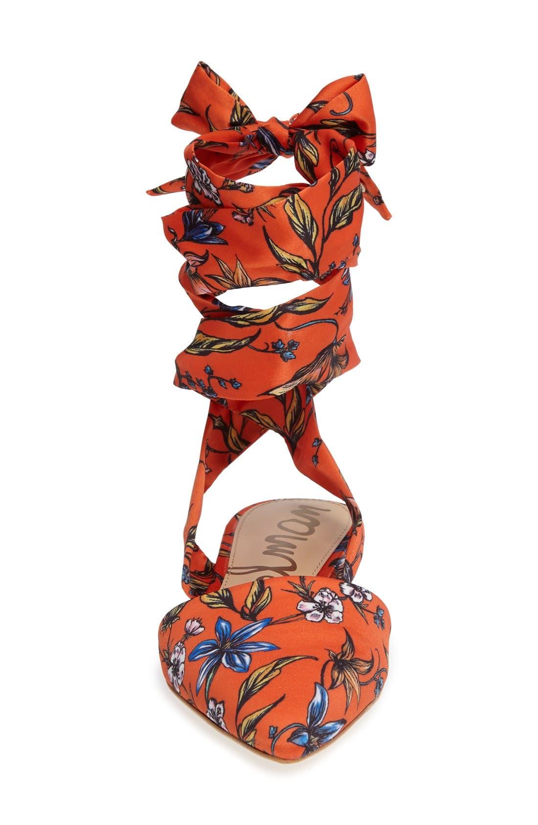 ,                             Brandie Lace-Up Flat,                             Alternate thumbnail 20, color,                             800