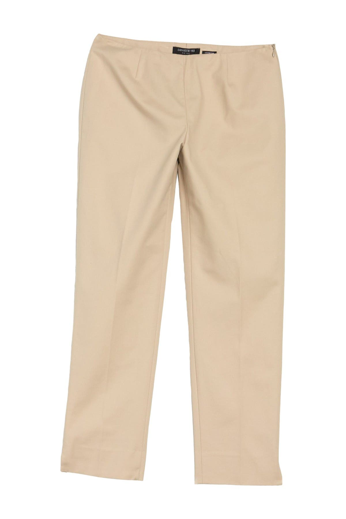 Image of Lafayette 148 New York Cropped Bleeker Pants
