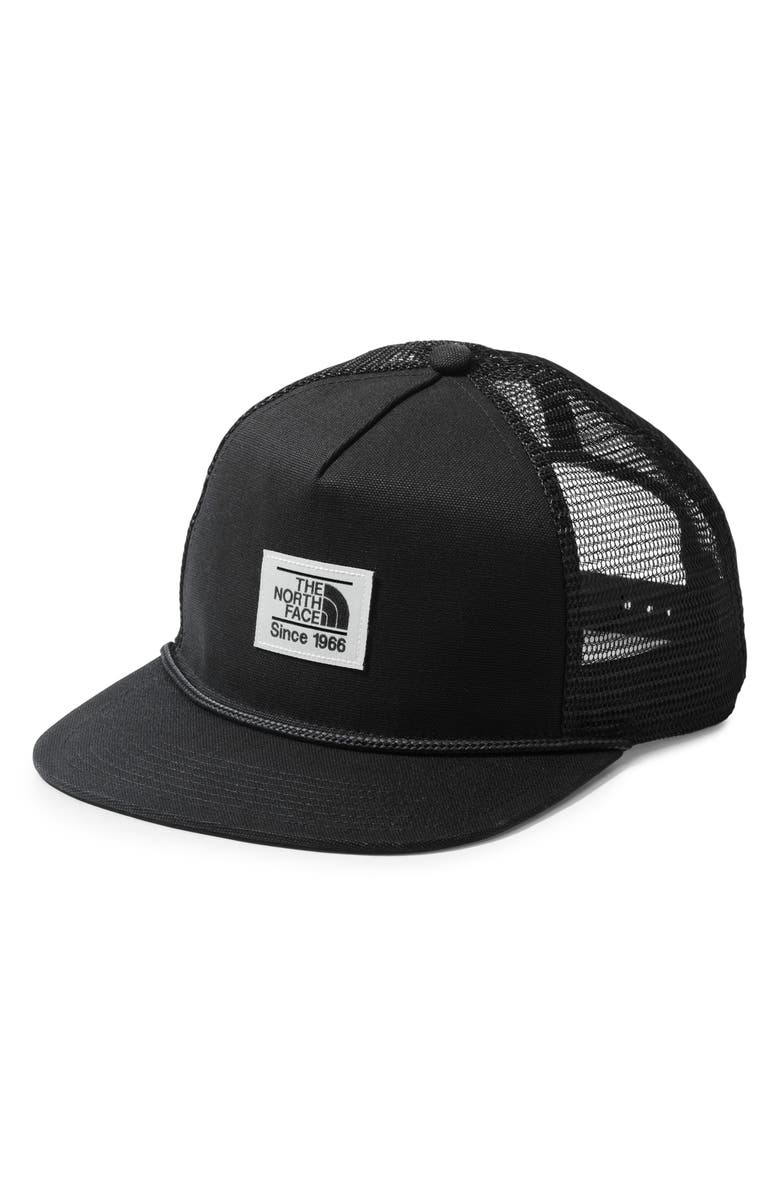 THE NORTH FACE Muddier Trucker Cap, Main, color, TNF BLACK