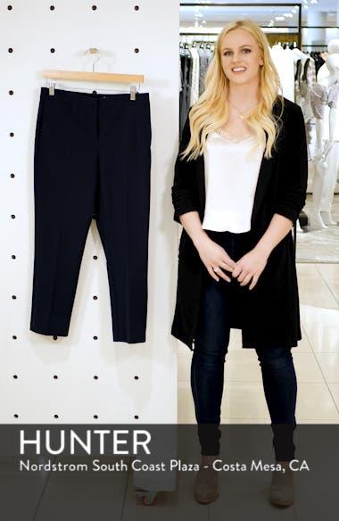 Slim Leg Stretch Cotton Pants, sales video thumbnail