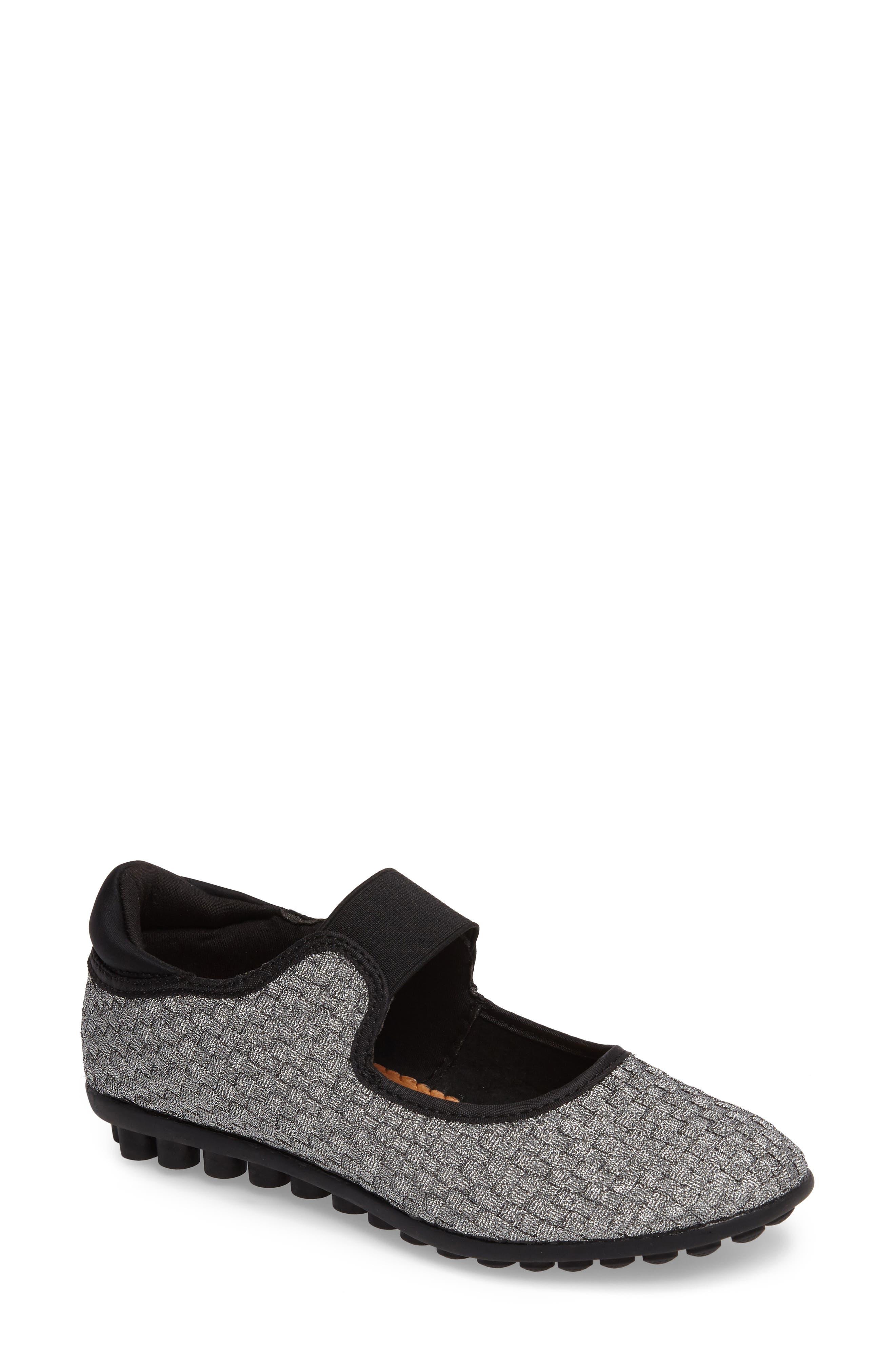 Bernie Mev Kendra Mary Jane Sneaker, Grey