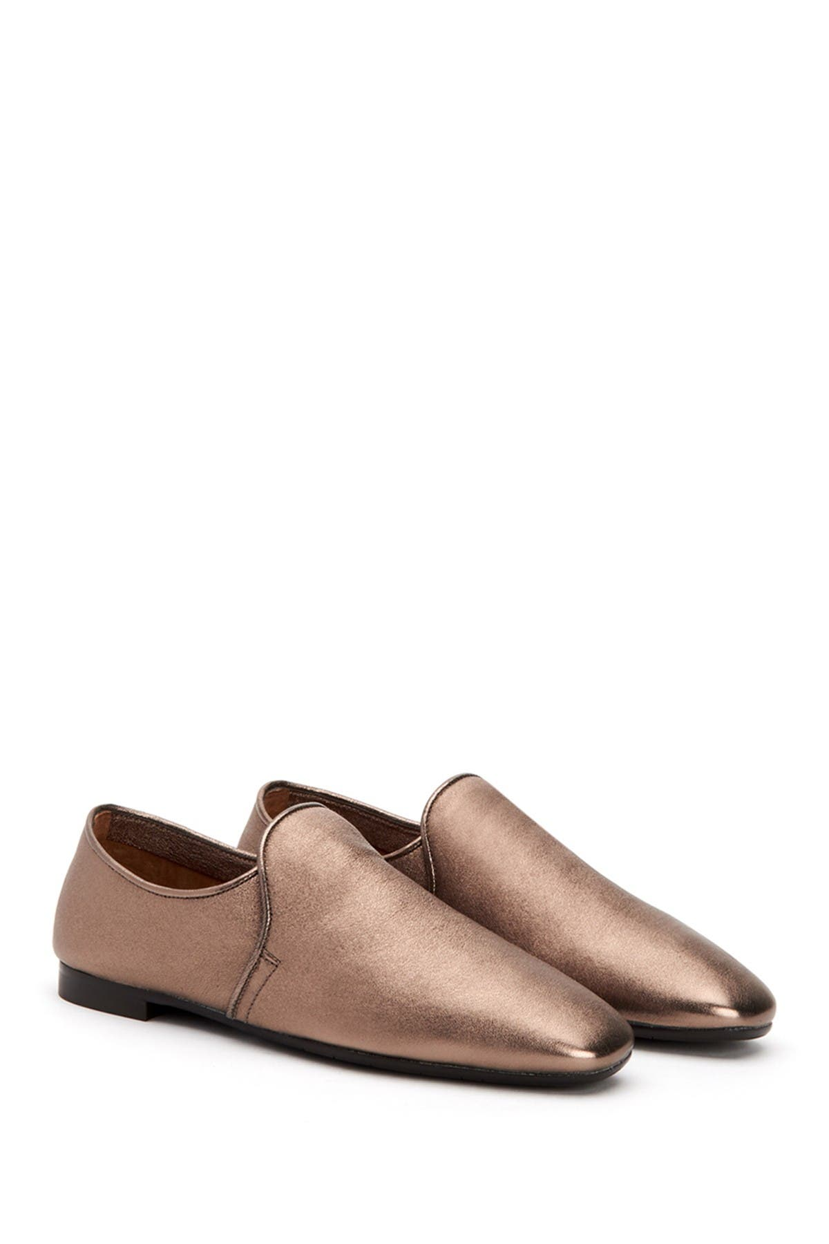 Image of Aquatalia Revy Leather Slip-On Shoe