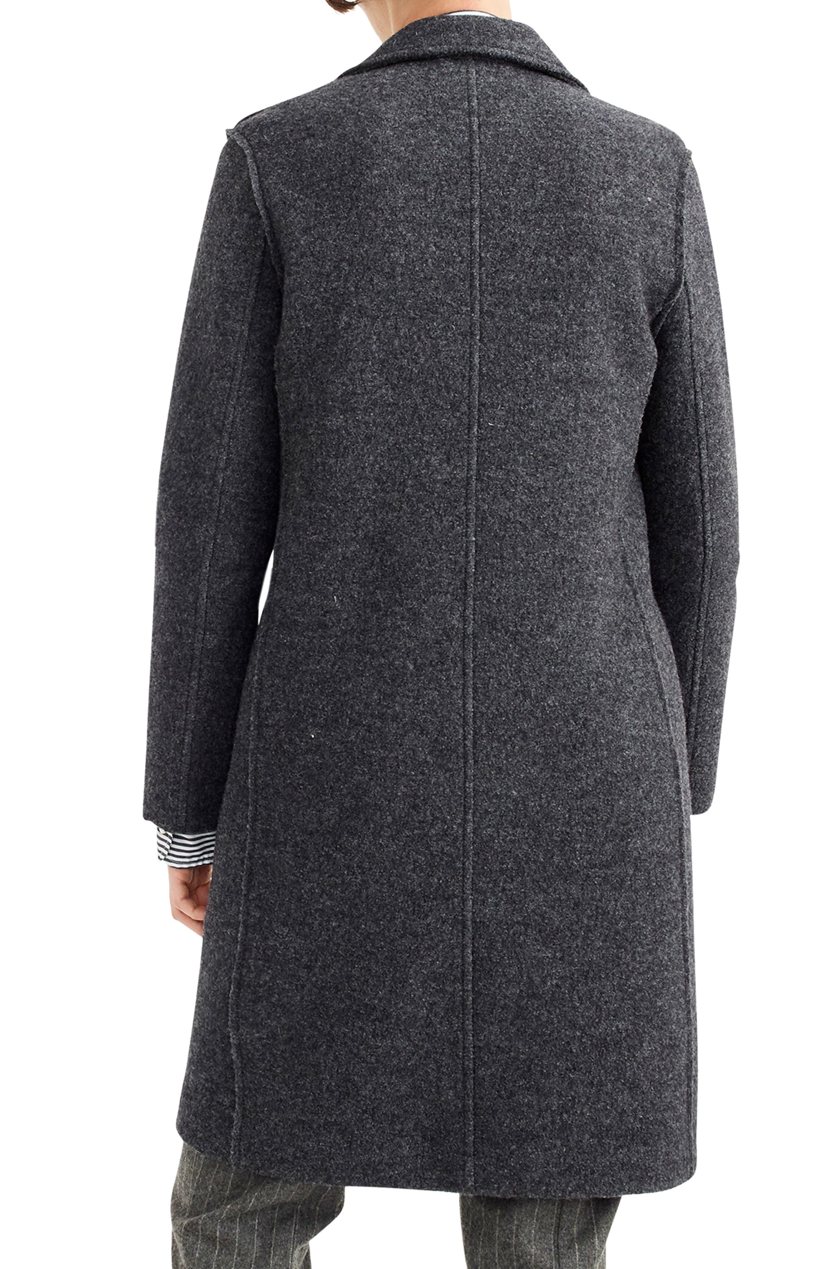 ,                             Daphne Boiled Wool Topcoat,                             Alternate thumbnail 21, color,                             091