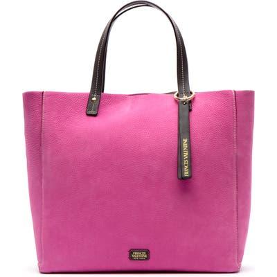 Frances Valentine Nubuck Tote - Pink