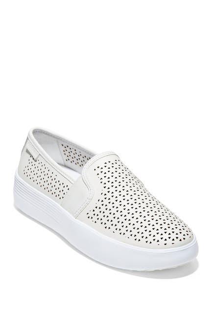 Image of Cole Haan Grand Crosscourt Flatform Slip-On Sneaker