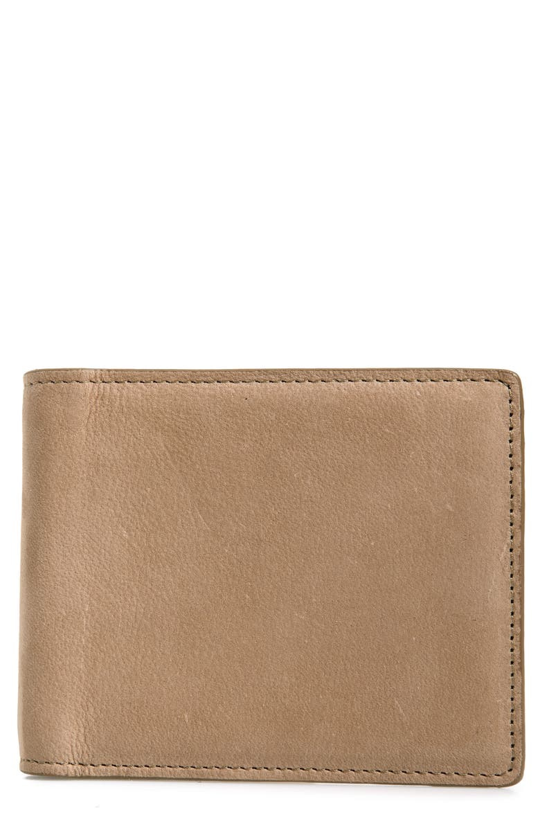 NORDSTROM MEN'S SHOP Upton RFID Leather Wallet, Main, color, 238