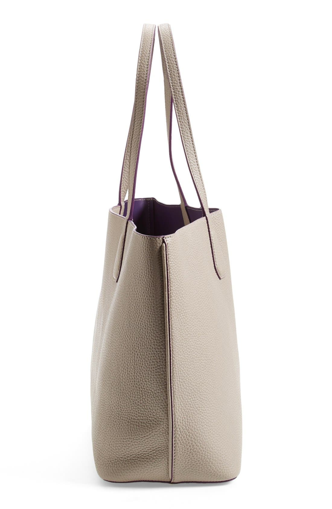 ,                             'Perry' Leather Tote,                             Alternate thumbnail 7, color,                             020