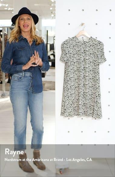 Petal Print Shift Dress, sales video thumbnail
