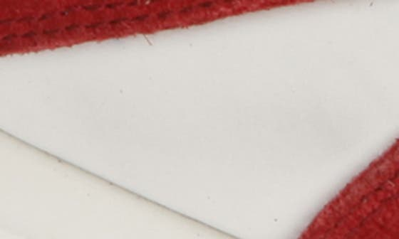 WHITE/ RED LEATHER