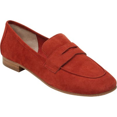 Marc Fisher Ltd Chang Penny Loafer, Orange