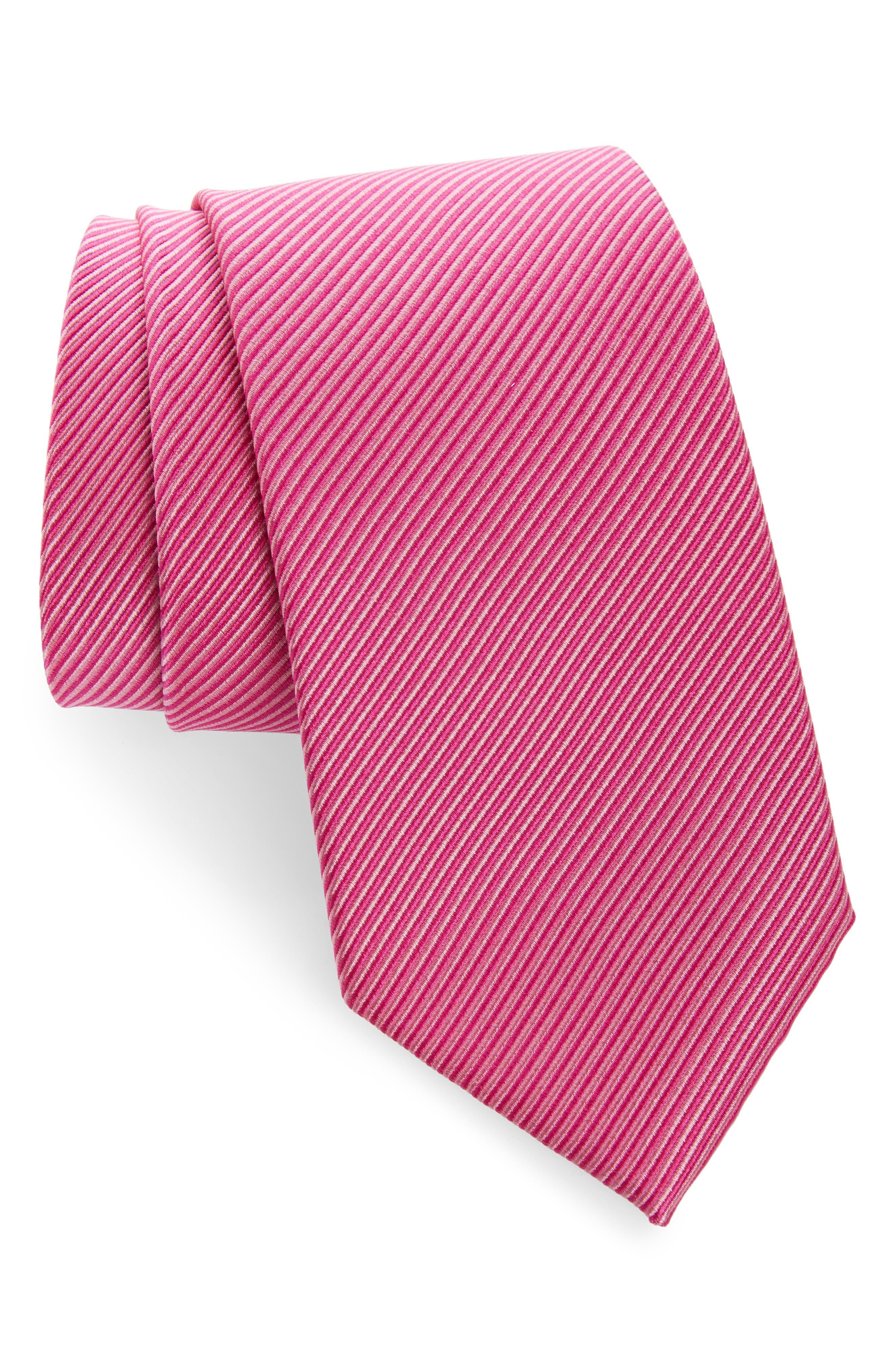 ,                             Stripe Silk Tie,                             Main thumbnail 11, color,                             660