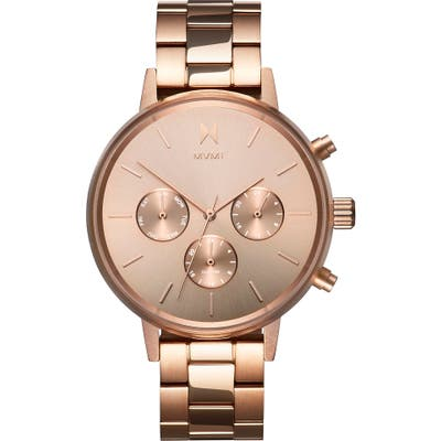 Mvmt Nova Chronograph Bracelet Watch,