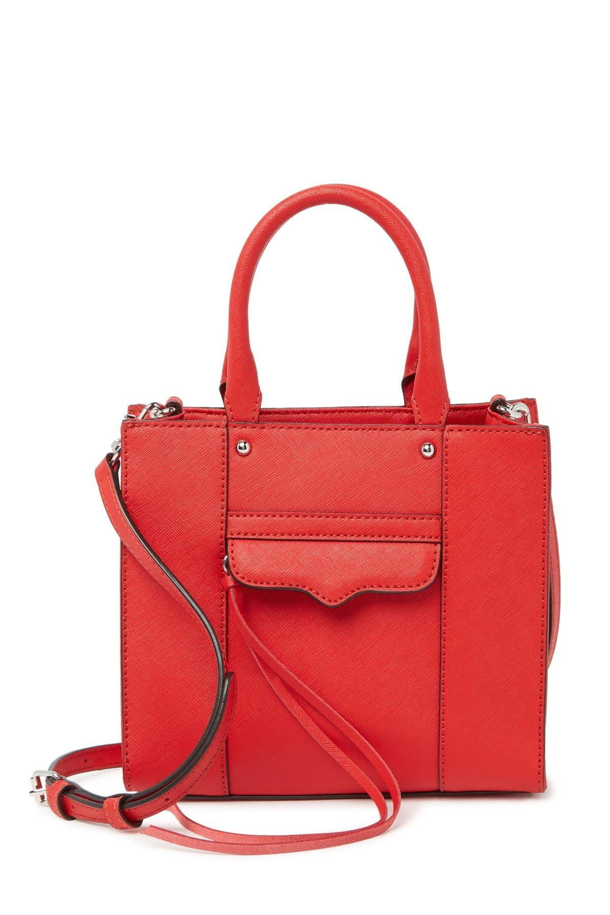 Image of Rebecca Minkoff MAB Mini Leather Tote Bag