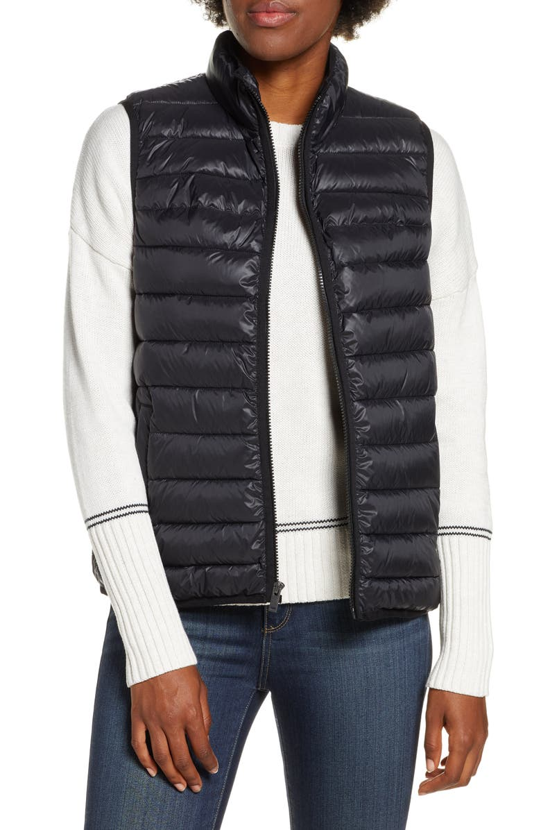 UGG<SUP>®</SUP> Felton Water Resistant Puffer Vest, Main, color, BLACK