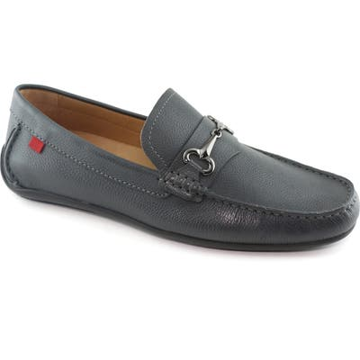 Marc Joseph New York Wall Street Driving Shoe- Grey