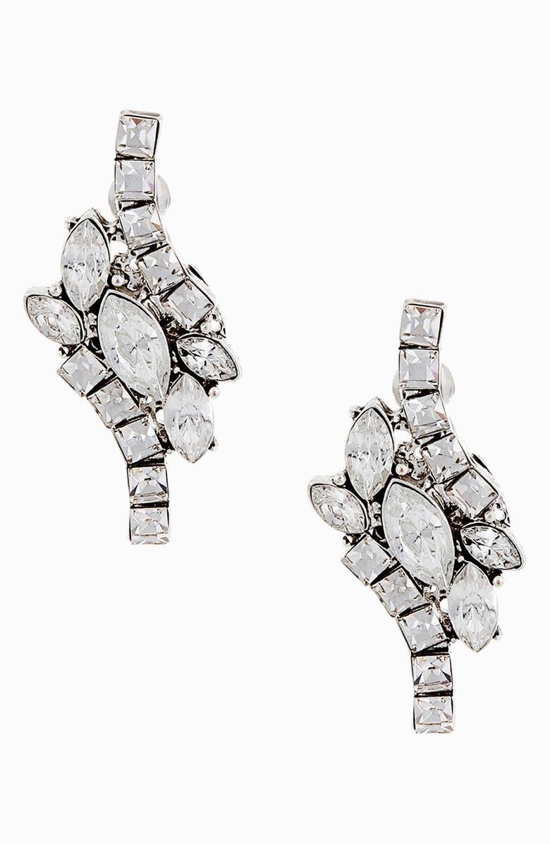 ERICKSON BEAMON ROCKS 'Tropical Punch' Cluster Stud Earrings, Main, color, 040