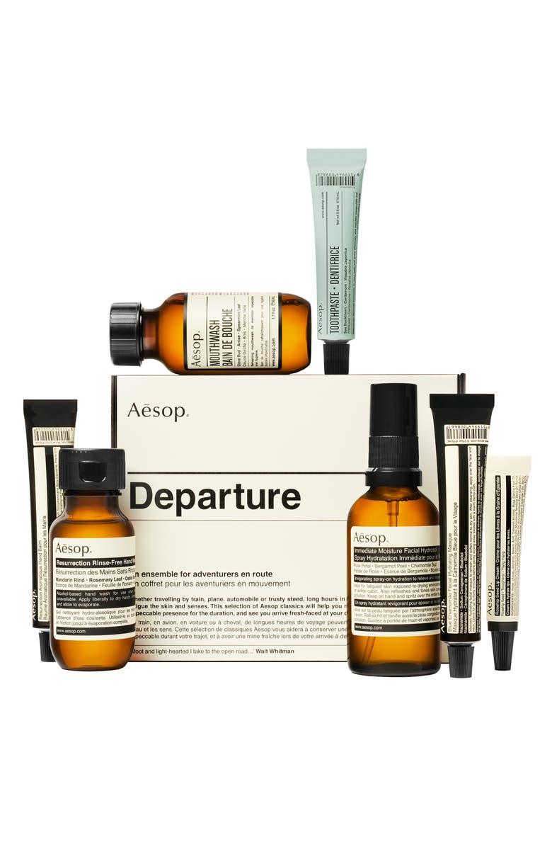 AESOP Departure Travel Kit, Main, color, NO COLOR