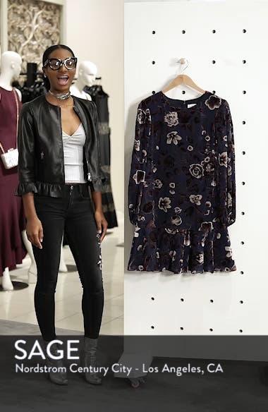 Floral Chiffon Shift Dress, sales video thumbnail
