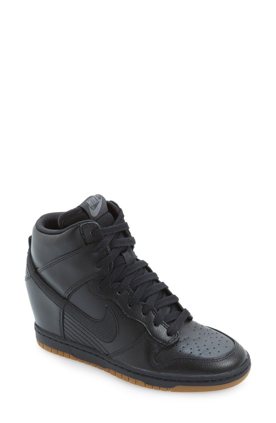 ,                             'Dunk Sky Hi - Essential' Wedge Sneaker,                             Main thumbnail 23, color,                             014
