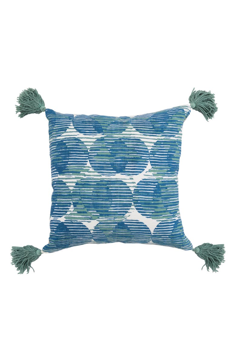 VILLA HOME COLLECTION Olympia Accent Pillow, Main, color, ARTIC BLUE
