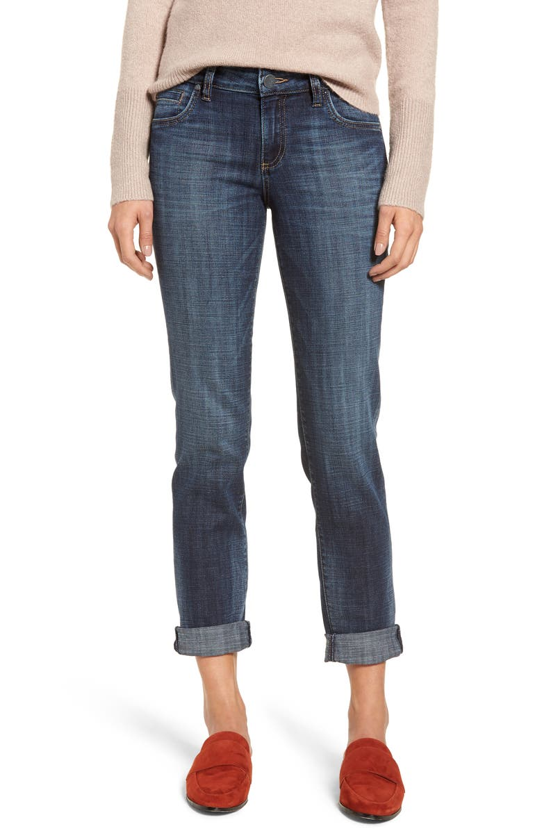 KUT FROM THE KLOTH Catherine Boyfriend Jeans, Main, color, COSY