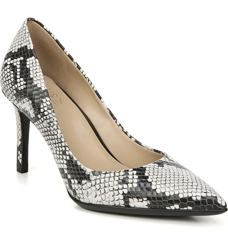 NATURALIZER Anna Pump, Main, color, ALABASTER SNAKE PRINT LEATHER