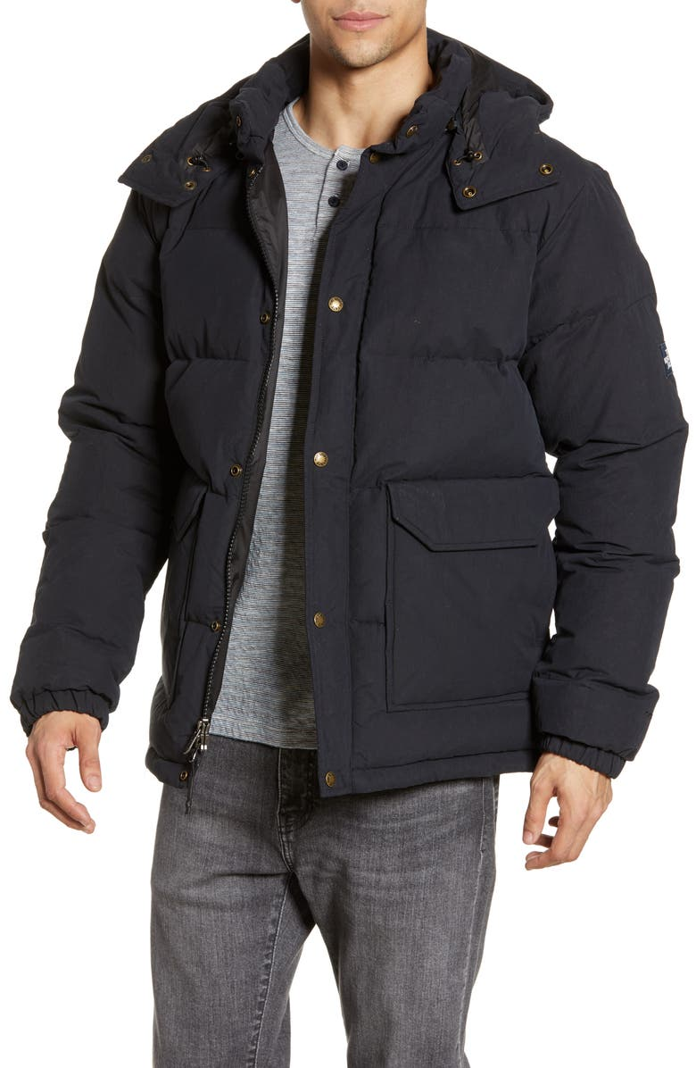 THE NORTH FACE Sierra 2.0 Water Resistant Down Insulated Hooded Parka, Main, color, TNF BLACK