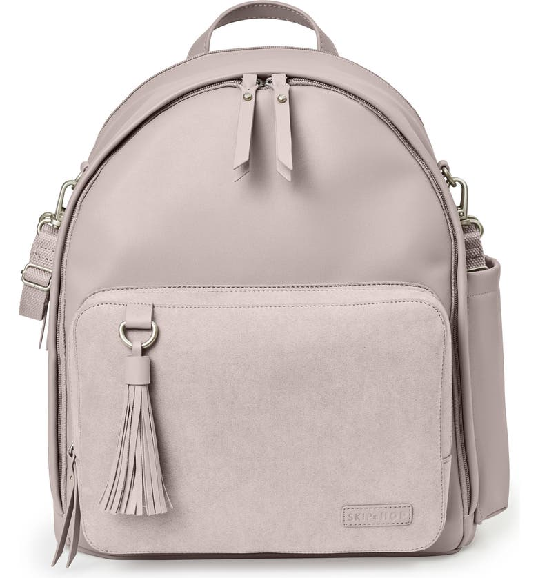 SKIP HOP Greenwich Simply Chic Diaper Backpack, Main, color, PORTOBELLO