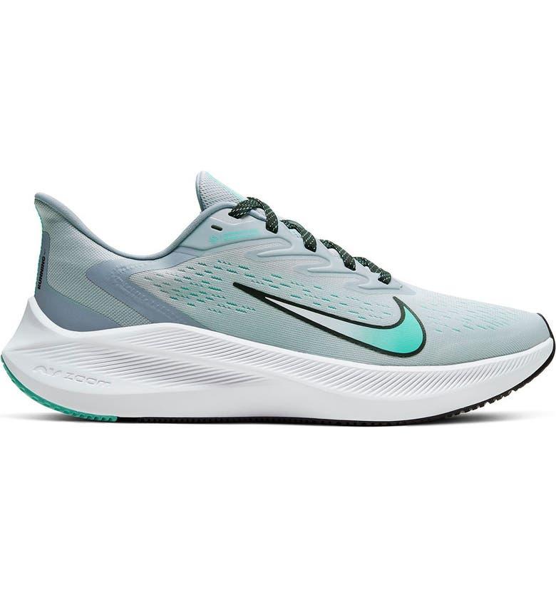 NIKE Air Zoom Winflo Sneaker, Main, color, 006 S GREY/BLACK