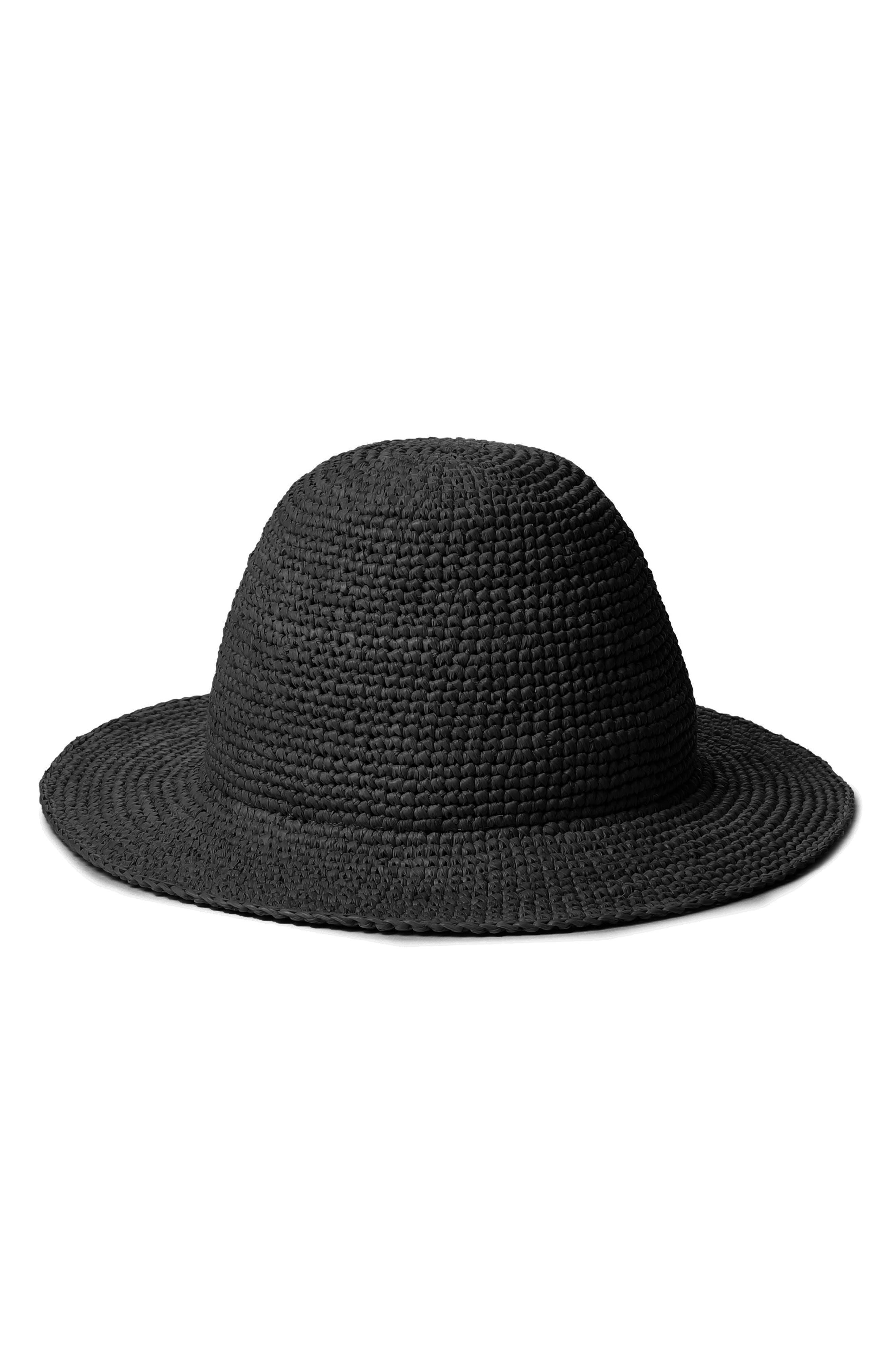 Quinn Straw Bucket Hat