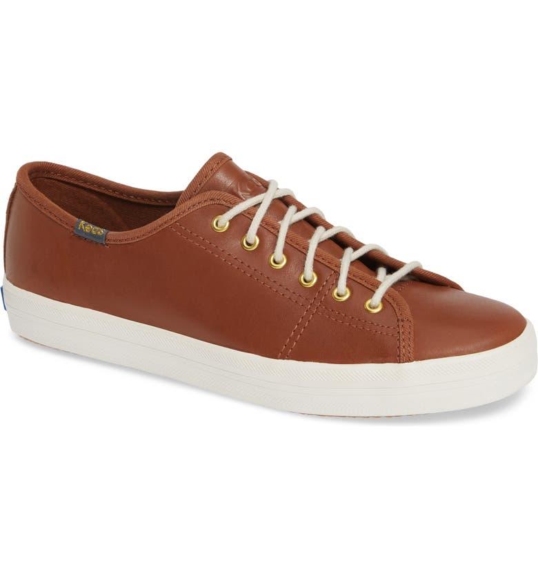 KEDS<SUP>®</SUP> Kickstart Low Top Sneaker, Main, color, COGNAC