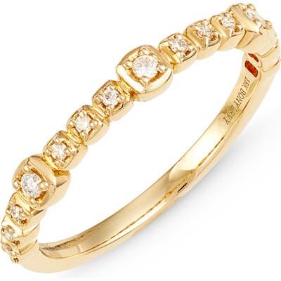 Bony Levy Monaco Diamond Station Ring (Nordstrom Exclusive)
