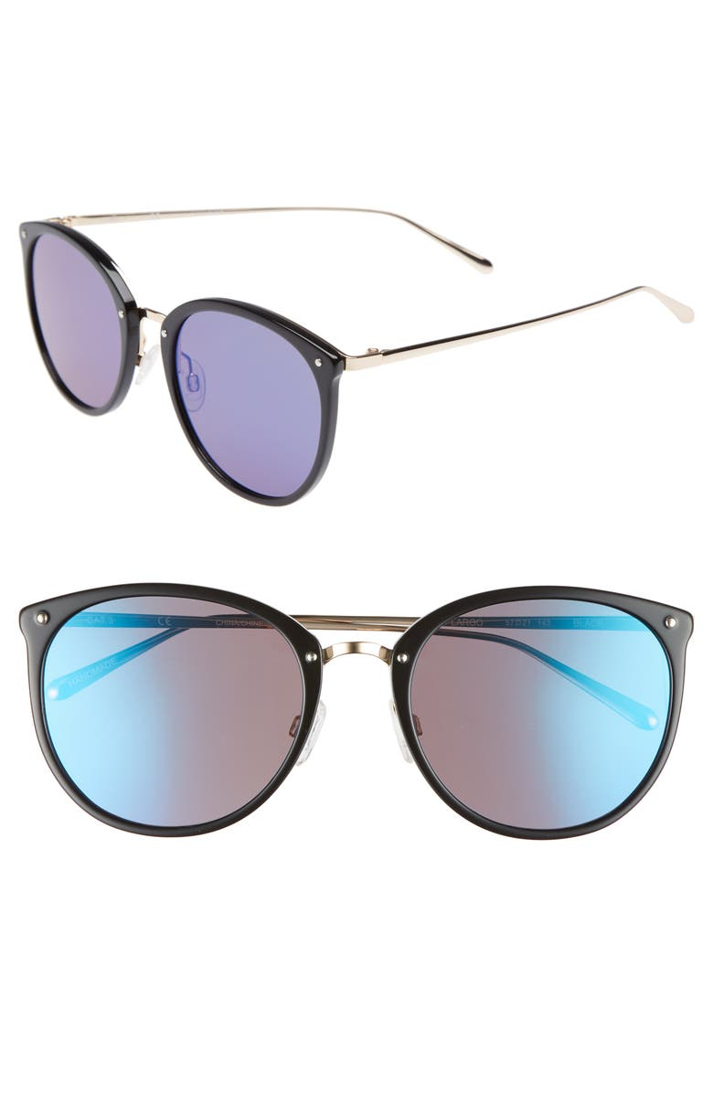 CHELSEA28 Key Largo 57mm Sunglasses, Main, color, 001