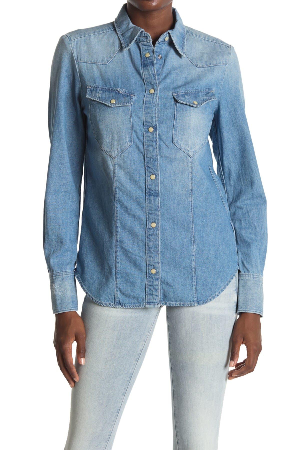 Image of G-STAR RAW Tacoma Straight Denim Shirt
