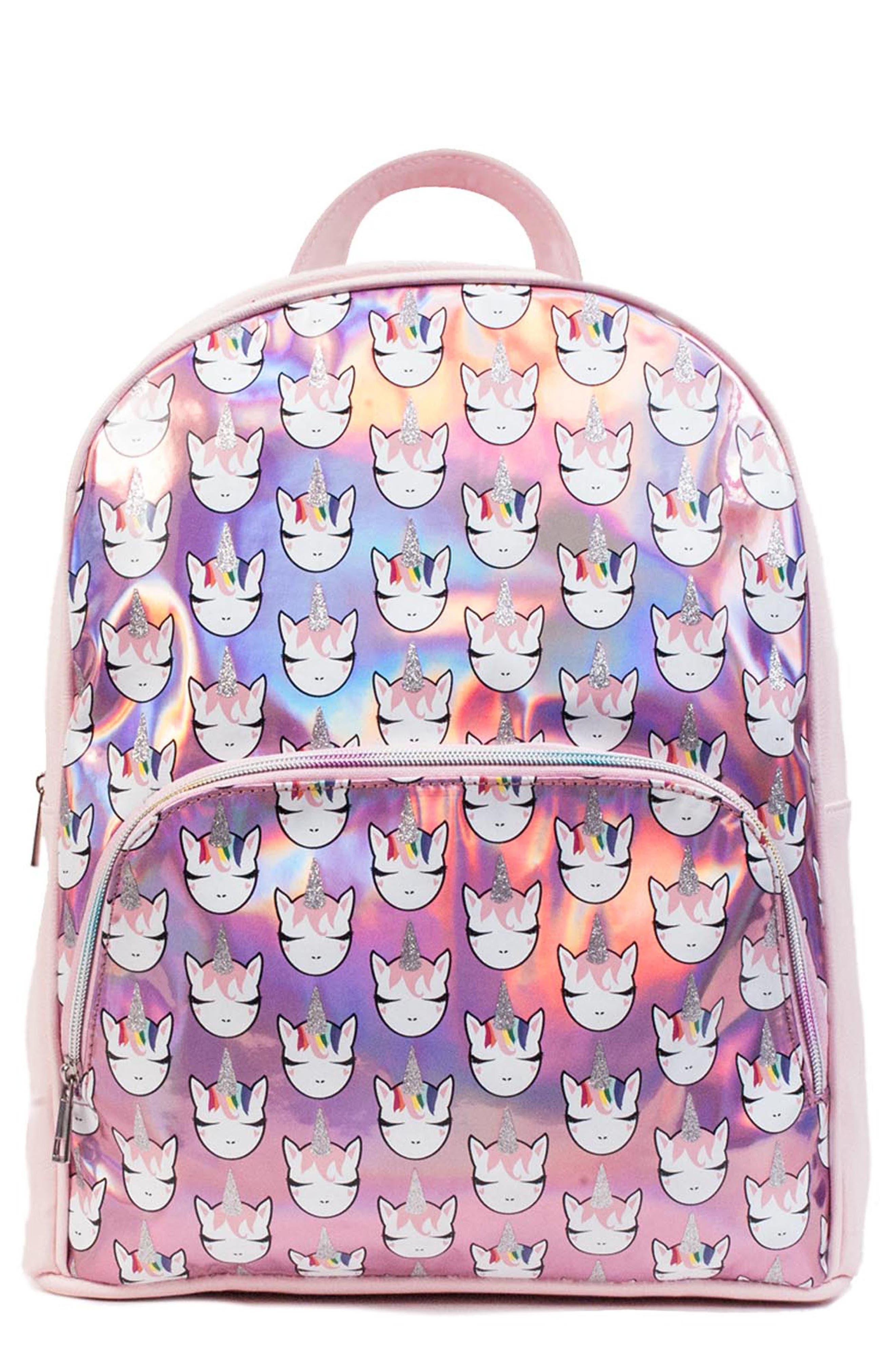 Girls Omg Unicorn Backpack  Pink